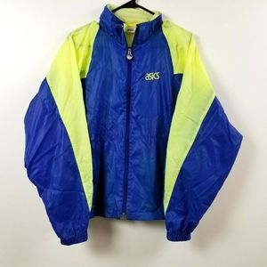 Vintage ASICS Mens Windbreaker Jacket M
